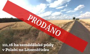 Prodej zemědělské půdy Polabí