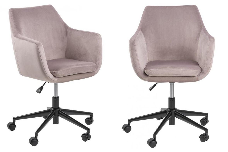 Starorůžová pohodlná židle.jpg
