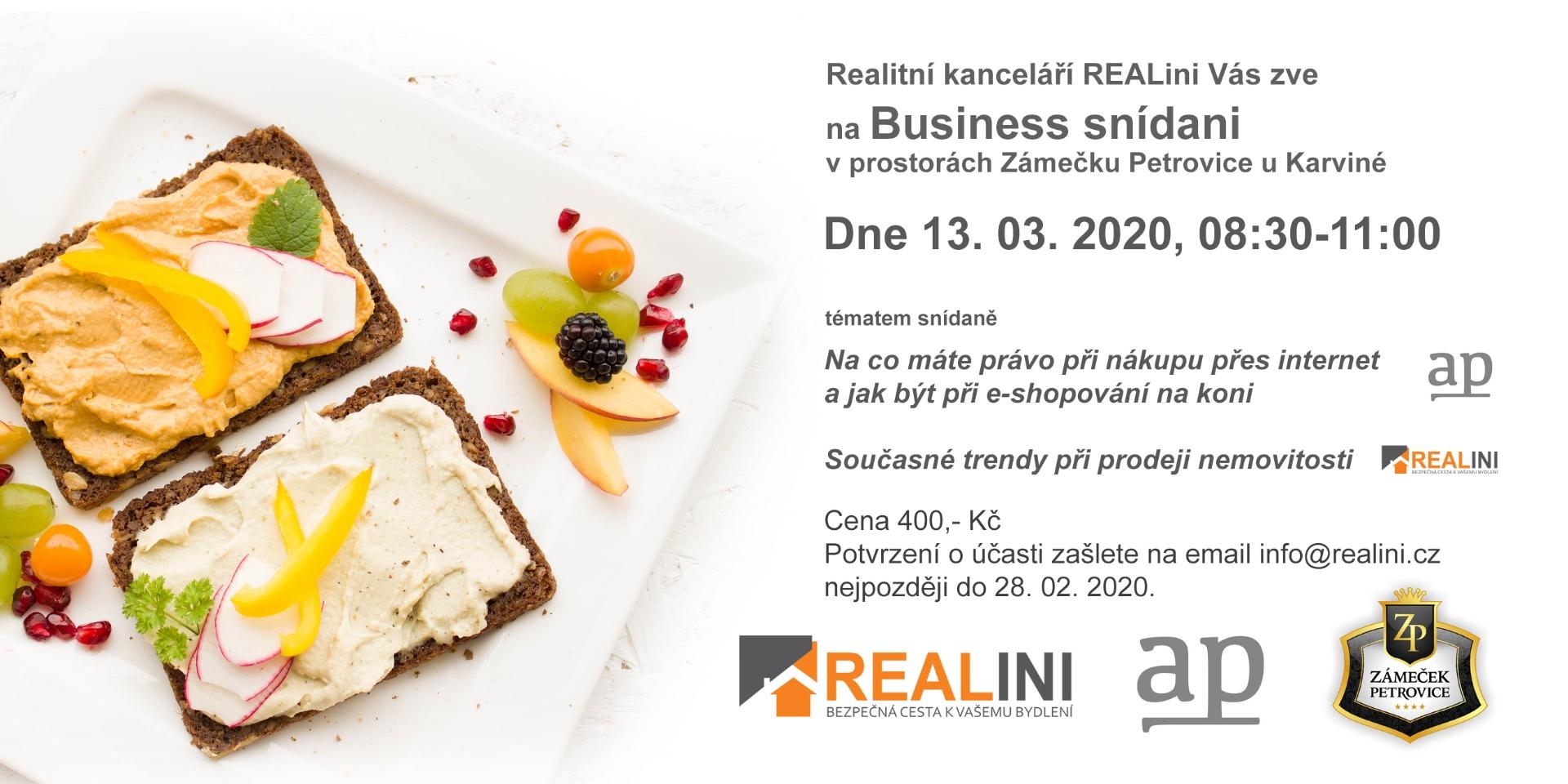 3.business snídaně