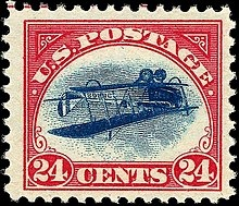 220px-US_Airmail_inverted_Jenny_24c_1918_issue
