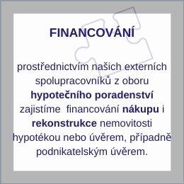 služby - financování